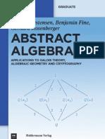 Abstract.algebra 2011 Rosenberger Fine Carstensen