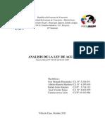 Analisis Ley de Aguas[1]