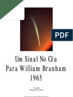 Um Sinal No Céu Para William Branham - 1965