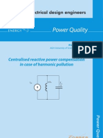 Centralised reactive power compensation