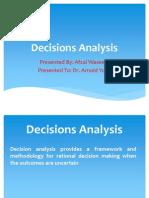 Decission Analysis Presentation