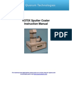 Sputter Coater K575X Instruction Manual