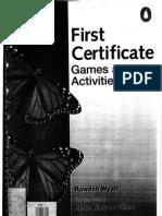 FCE Games & Activities