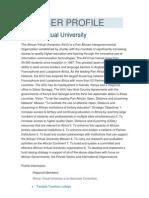 University African Member Profile