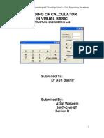 Simple Visual Basic Calculator