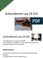 Antecedentes Ley 19