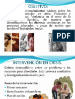Intervencion en Crisis Al Suicidio