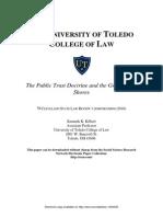 Public Trust Doctrine