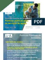 2_Políticas públicas para os serviços de águas (Jaime Melo Baptista)
