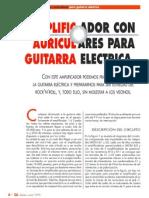 Amplificador de Guitarra Para Auriculares 672