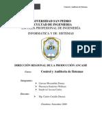 DIRECCIÓN REGIONAL DE LA PRODUCCIÓN ANCASH