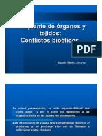 Bioética & trasplantes