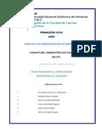 Plan Financiero Ferreteria El Soldado Actualizado