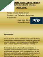 Método de explotacion Arch Back