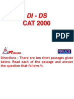 Cat- 2000 Questions Ppt -- Di Ds
