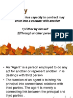 Contract of Agency PPT MBA