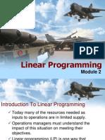 Linear Programming Model 2 MBA PPT