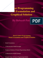 Linear Programming Model Formulation and Graphical Solution MBA PPT