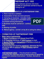 Partnership Act MBA PPT