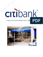 Corporate Banking and Trade Service at Citibank, N.a.