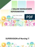 PP Supervisi Dalam Manajemen Keperawatan