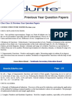 Cbse Class 11 Previous Year Question Papers