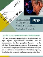 Amanda Masihy, Alvaro Solar, Abner Zuñiga - Parkinson