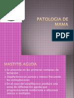Clase de Patologia de Mama