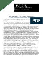 Parole Board Too Close to Government