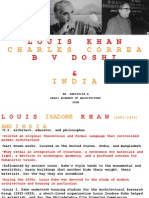 Louis Kahn, Correa, Doshi (2)