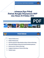 Paparan Trilateral Meeting 2013