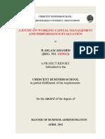 Study on Working Capital[1]