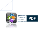 Quickoffice Pro Android 5.0 Guide