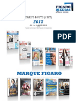 Tar if s Marque Figaro 2012