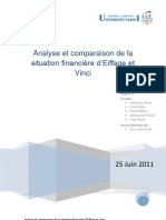 Finance - Analyse Et Comparaison Des Situation Financieres d'Eiffage Et Vinci 2011-06-23