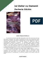 3 Razboiul Zeilor Cu Oamenii - Zecharia Sitchin