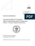 The Dept of Energy BBS Process