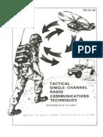 fm 24-18 tactical single channel radio communications techniques