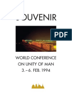 World Conference on Unity of Man 1994