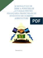 1. Managementul Investitiilor - Cai de Obtinere a Finantarii Din Fonduri Structurale