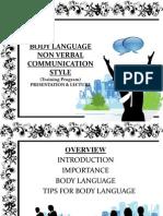 Body Language Non Verbal Communication Style