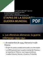 Etapas IIª GM
