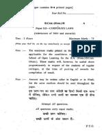 b.com. (Hons)-II Paper Xii -Corporate Laws