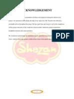 Shezan - Strategic Analysis & Planning