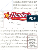 Hardee's - Delivery Feasibility Study