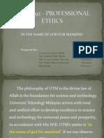 Uhs 2092 - Professional Ethics