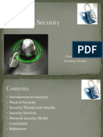Network Security and Attacks