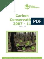 Carbon Conservation Media Kit 2011 Compressed