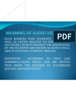 Audio Visual Aids