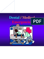 dental  medical emergencies